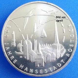 20 Euro Münze Deutschland 2018 800 Jahre Hansestadt Rostock