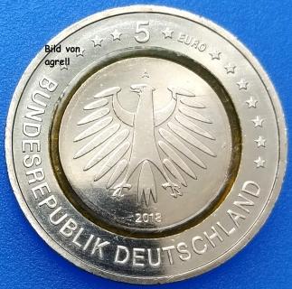 5 Euro Münze Deutschland 2018 Klimazonen Subtropische Zone