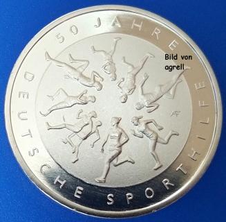 20 Euro Münze Deutschland 2017 50 Jahre Deutsche Sporthilfe