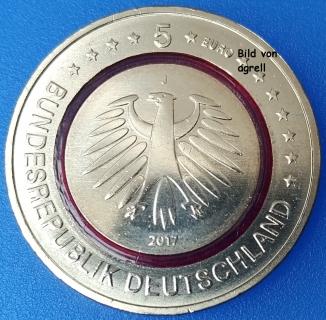 5 Euro Münze Deutschland 2017 Klimazonen Tropische Zone