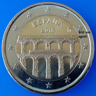2 Euro Commemorative Spain 2016 Unesco